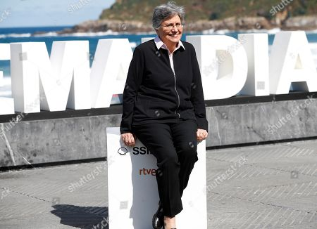 Chilean filmmaker Valeria Sarmiento poses during the presentation of the film 'Le cahier noir' at the 66th edition of San Sebastian international Film Festival (SSIFF), in San Sebastian, Basque Country, northern Spain, 24 September 2018. The SSIFF will be held from 21 to 29 September 2018.