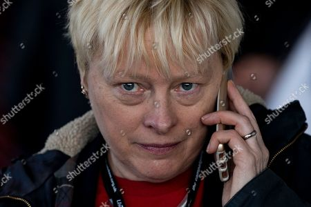 Labour Party politician and MP Angela Eagle arrives at the Labour Party Conference in Liverpool, Britain, 24 September 2018. The annual Labour Party Conference which will run from 23 September until Wednesday 26 September.
