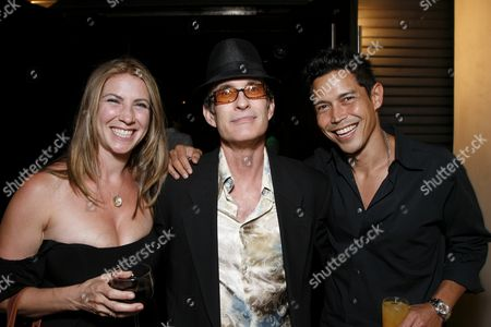 Yvonne Jung, Director David Twohy and Anthony Ruivivar