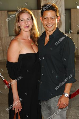 Anthony Ruivivar with wife Yvonne