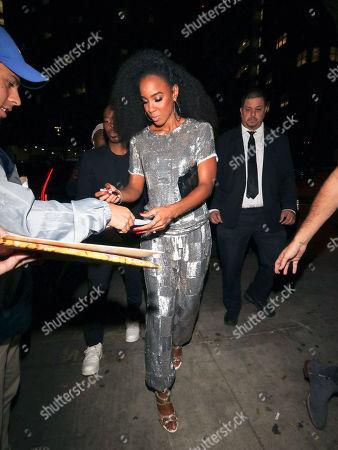 Celebrities at Peppermint Nightclub, Los Angeles
