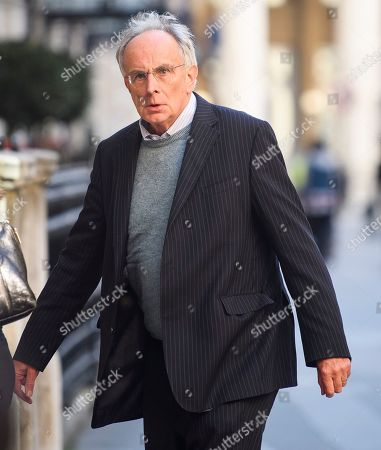 Peter Bone MP arrives for an Alternative Brexit event, held by the IEA (Institute of Economic Affairs) in central London.