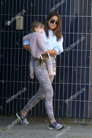 Exclusive - Binky Felstead out and about, London