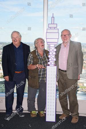 Bill Oddie, Tim Brooke-Taylor and Graeme Garden
