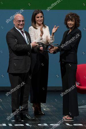 Editorial picture of 'V de Vida' AECC awards, Madrid, Spain - 24 Sep 2018