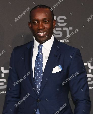 Former Manchester United forward Dwight Yorke arrives for the Best FIFA Football Awards 2018 in London, Great Britain, 24 September 2018.