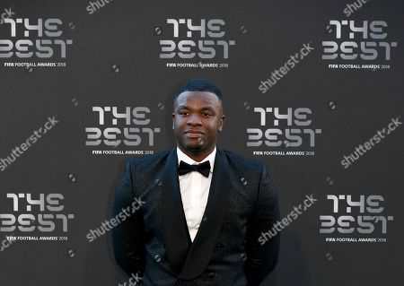 British comedian, Michael Dapaah arrives for the Best FIFA Football Awards 2018 in London, Great Britain, 24 September 2018.