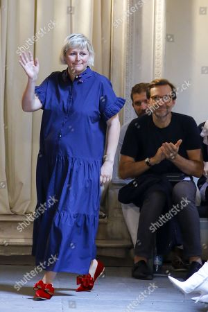 Editorial picture of Vivetta show, Runway, Spring Summer 2019, Milan Fashion Week, Italy - 20 Sep 2018