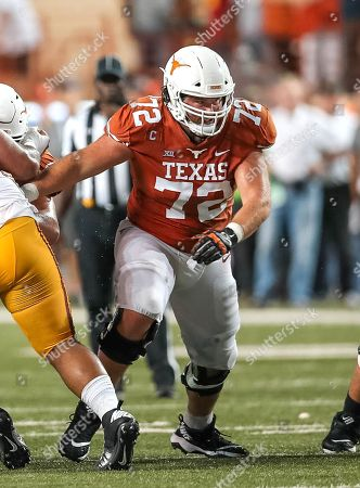 September15, Austin. TX..Texas Longhorns offensive lineman (72) Elijah Rodriguez in action during a game between the USC Trojans vs Texas Longhorns. Texas defeated USC 49-21 on at the Darrell K Royal - Texas Memorial Stadium, in Austin, Tx. (Mandatory Credit: Juan Lainez / MarinMedia.org / Cal Sport Media) (Complete photographer, and credit required)