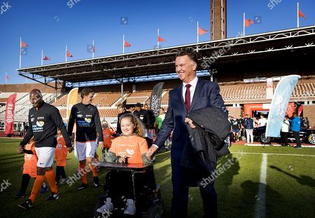 Former Manchester United head coach Louis Van Gaal during the match of former Dutch internationals and players in the Olympic Stadium in Amsterdam, The Netherlands, 24 September 2018. The game was dedicated to Muscles for Muscles, the organization that raises money to help children with a muscular disease.