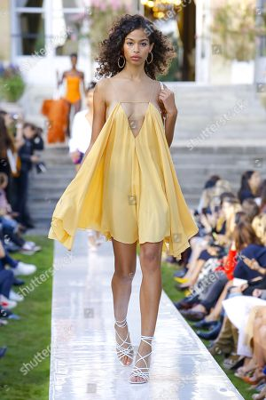 Editorial image of Jacquemus show, Runway, Spring Summer 2019, Paris Fashion Week, France - 24 Sep 2018