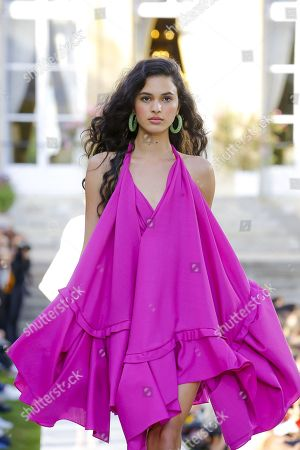 Stock Picture of Aira Ferreira on the catwalk
