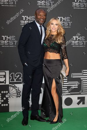 William Gallas and his wife Nadege