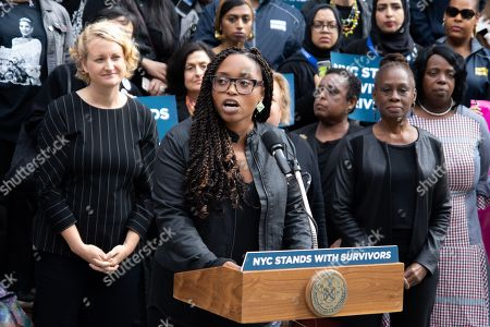 Stand with Survivors rally, New York
