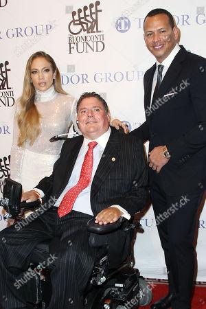 Jennifer Lopez, Marc Buoniconti, Alex Rodriguez