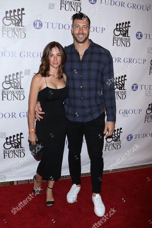 Laura Buscher and Connor Barwin