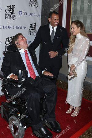 Marc Buoniconti, Alex Rodriguez, Jennifer Lopez