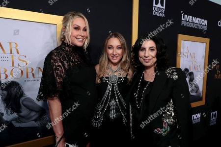 Heather Parry, President of Production, Film and Television at Live Nation, Blair Rich, President, Worldwide Marketing, Warner Bros. Pictures Group and Warner Bros. Home Entertainment, Sue Kroll