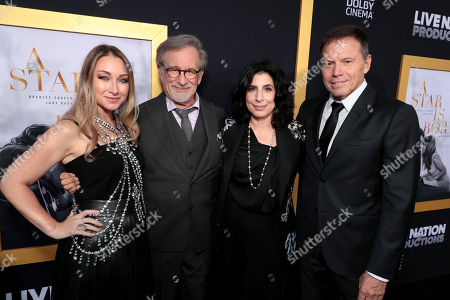 Blair Rich, President, Worldwide Marketing, Warner Bros. Pictures Group and Warner Bros. Home Entertainment, Steven Spielberg, Sue Kroll, Bill Gerber, Producer,