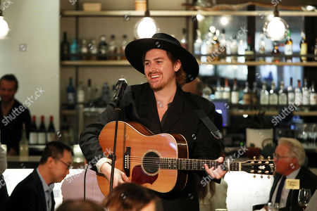 Jamie N Commons performs at Cassia's 3rd Annual LA Chefs for Human Rights, in Santa Monica, Calif