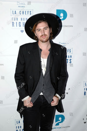 Stock Photo of Jamie N Commons arrives at Cassia's 3rd Annual LA Chefs for Human Rights, in Santa Monica, Calif