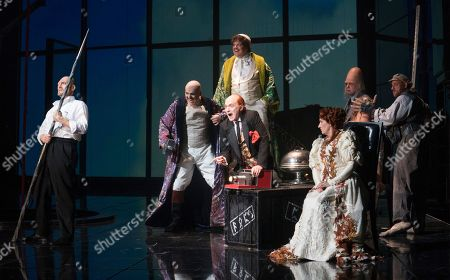 Editorial image of Das Rheingold performed at the Royal Opera House, London, UK - 24 Sep 2018