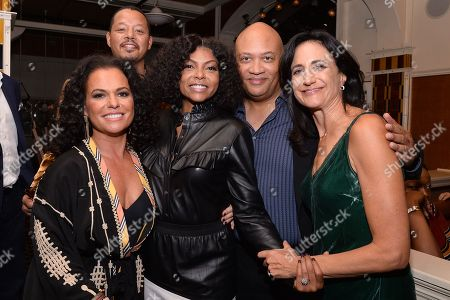 Stock Photo of Sanaa Hamri, Terrence Howard, Taraji P. Henson, Brett Mahoney,Francie Calfo