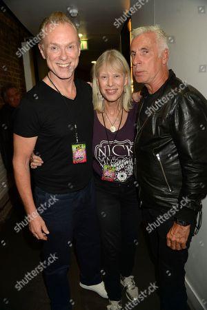 Gary Kemp, Nettie Mason and John Giddings