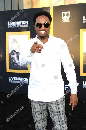 US actor/cast member Eddie Griffin arrives at the premiere of the film 'A Star Is Born' at the Shrine Auditorium in Los Angeles, California, USA, 24 September 2018. The movie opens in the US on 05 October 2018.