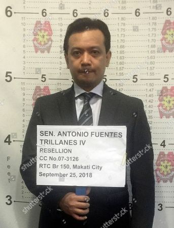 Court issues arrest warrant for senator Antonio Trillanes, Manila