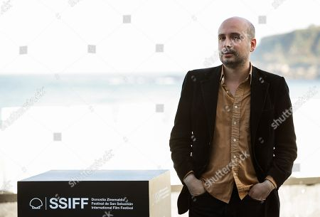 British director Peter Strickland poses during the presentation of his film 'In Fabric' at the 66th edition of San Sebastian international Film Festival (SSIFF), in San Sebastian, Basque Country, northern Spain, 25 September 2018. The SSIFF will be held from 21 to 29 September 2018.