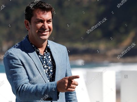 Spanish actor and cast member Arturo Valls poses for the photographers during the presentation of the film 'Tiempo después' (lit: Time After) at the 66th edition of San Sebastian international Film Festival (SSIFF), in San Sebastian, Basque Country, northern Spain, 25 September 2018. The SSIFF will be held from 21 to 29 September 2018.