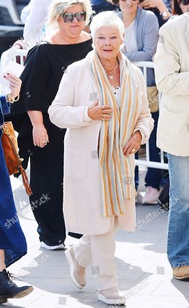 Judi Dench out and about, 66th San Sebastian Film Festival
