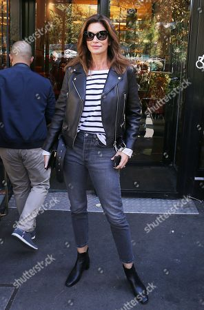 Cindy Crawford out and about, Paris Fashion Week