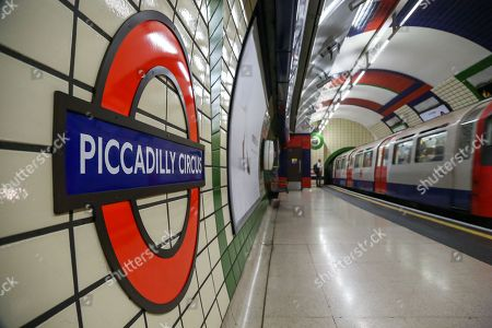 Piccadilly Line tube strike, London
