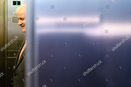 German Minister of Interior, Construction and Homeland and chairman of the German Christian Social Union (CSU) Horst Seehofer leaves the joint meeting of the Christian Democratic Union (CDU) and Christian Social Union (CSU) parties' faction in Berlin, Germany, 25 September 2018. The joint CDU/CSU faction gathered to vote for their new chairman in an election which Brinkhaus won over the faction's long-time former chairman Volker Kauder.