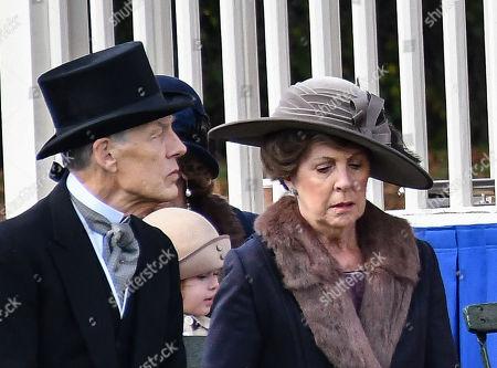 Douglas Reith and Penelope Wilton