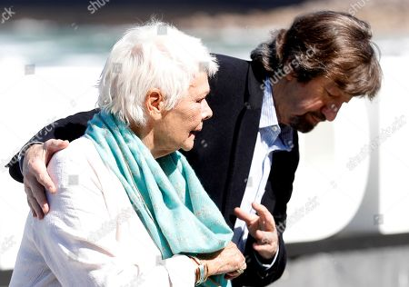 British actress Judy Dench  (L) and British film director Trevor Nunn (R) pose for media in San Sebastian, Basque Country, Spain, 25 September 2018. Dench will receive the Donostia Award this evening during the 66th edition of San Sebastian international Film Festival (SSIFF), in San Sebastian, Basque Country, northern Spain, 25 September 2018. The SSIFF will be held from 21 to 29 September 2018.