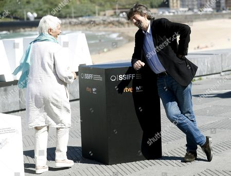 British actress Judy Dench (L) and British film director Trevor Nunn (R) pose for photographers in San Sebastian, Basque Country, Spain, 25 September 2018. Dench and Nunn present the film 'Red Joan' at the 66th edition of San Sebastian international Film Festival (SSIFF), in San Sebastian, Basque Country, northern Spain, 25 September 2018. The SSIFF will be held from 21 to 29 September 2018.