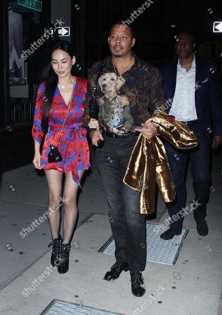 Mira Pak and Terrence Howard