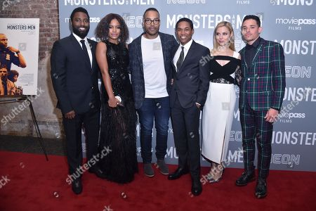 John David Washington, Chante Adams, Reinaldo Marcus Green, Kelvin Harrison Jr., Cara Buono and Anthony Ramos