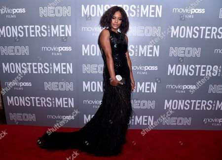 Editorial photo of 'Monsters and Men' film premiere, New York, USA - 25 Sep 2018