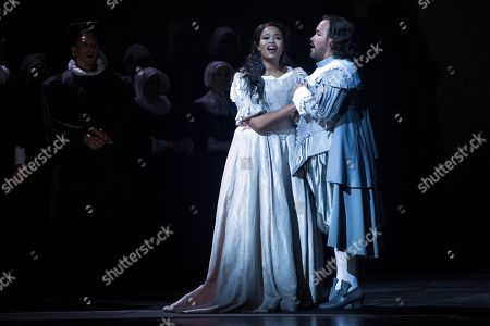Editorial picture of ''I Puritani'' opera in Barcelona, Spain - 25 Sep 2018