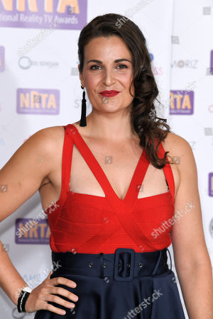 Editorial photo of 8th National Reality TV Awards, London, UK - 25 Sep 2018