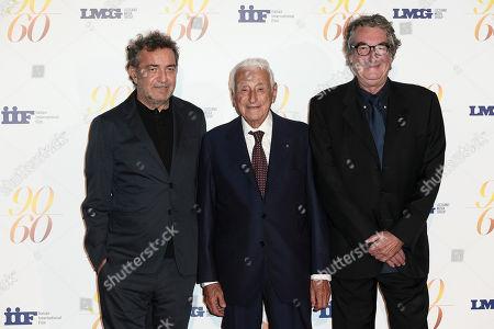 Fulvio Lucisano, Producer Pietro Valsecchi, Director Neri Parenti