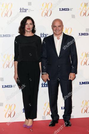 Luisa Ranieri and husband Luca Zingaretti