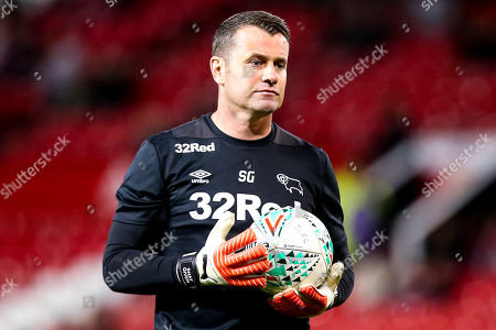 Derby County Goalkeeping coach Shay Given