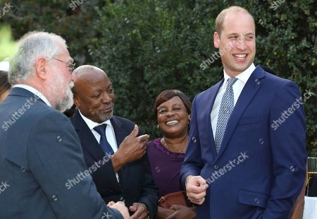 Prince William visit to Namibia