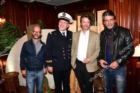 Maurice Barthelemy, Claude Rath, Thibault de Montalembert, Pascal Elbe