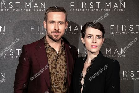 'First Man' film premiere, Paris